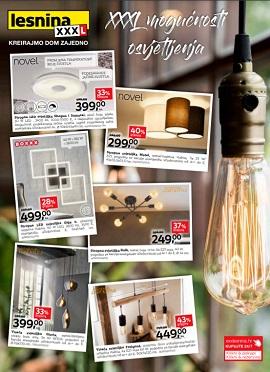 Lesnina katalog osvjetljenje