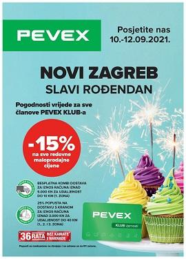 Pevex katalog Novi Zagreb