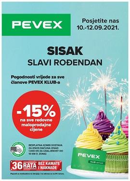 Pevex katalog Sisak