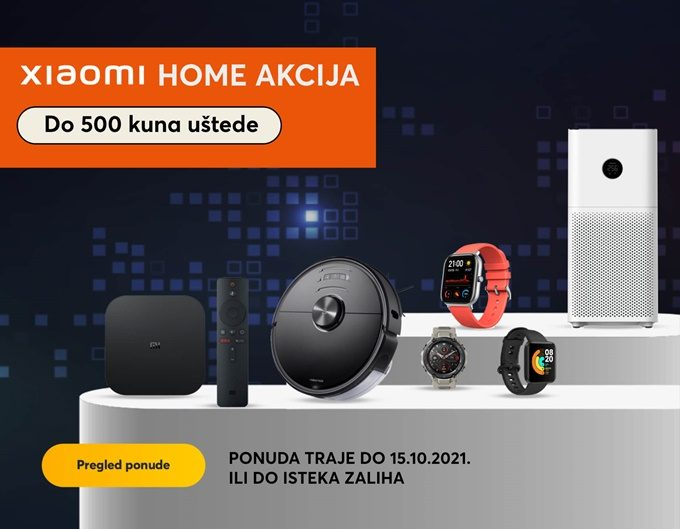 Makromikro webshop akcija Xiaomi Home