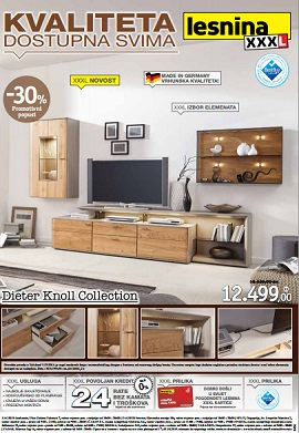lesnina katalog dieter knoll collection. Black Bedroom Furniture Sets. Home Design Ideas