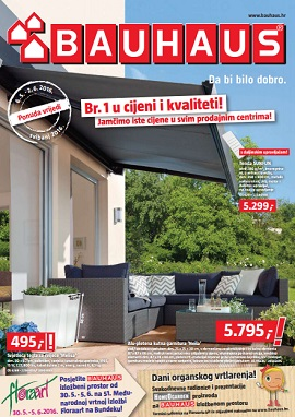 bauhaus katalog svibanj 2016. Black Bedroom Furniture Sets. Home Design Ideas